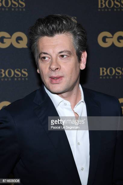 Male singer of the year Benjamin Biolay attends GQ Men Of The Year Awards 2017 at Le Trianon on November 15 2017 in Paris France