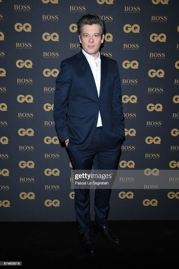 GQ Men Of The Year Awards 2017 At Le Trianon In Paris