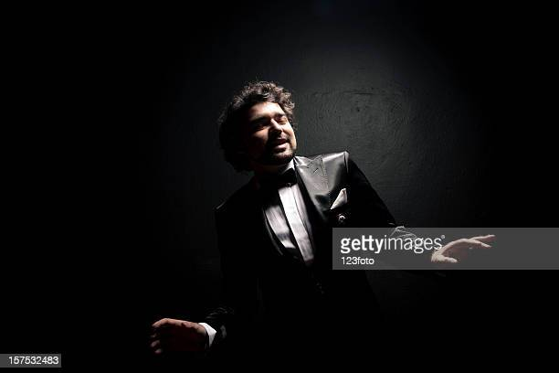 male singer - opera stock pictures, royalty-free photos & images