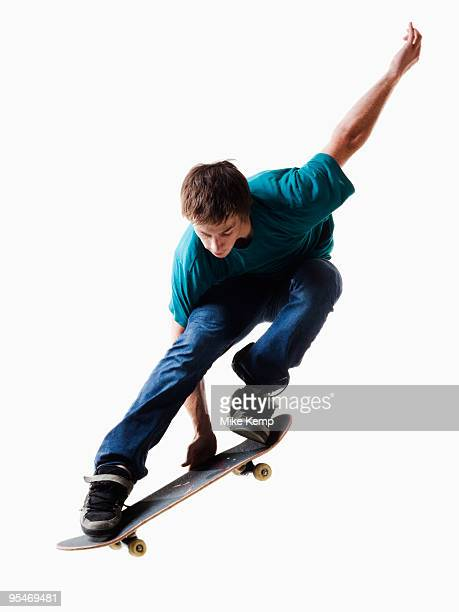 male skateboarding - skating stock pictures, royalty-free photos & images