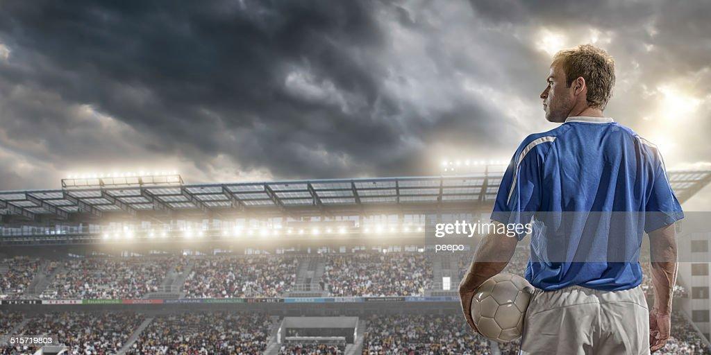 サッカー選手 : ストックフォト