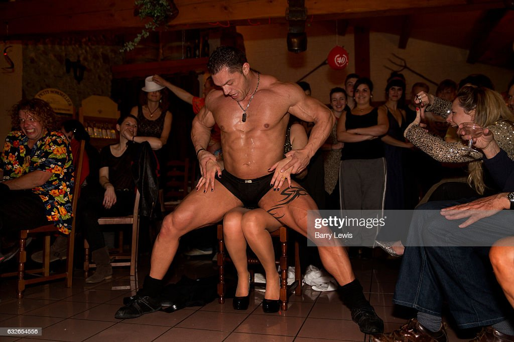Male stripper ladies party