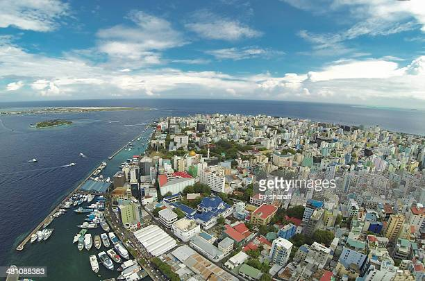 male' - the capital of maldives. - male maldives stock pictures, royalty-free photos & images