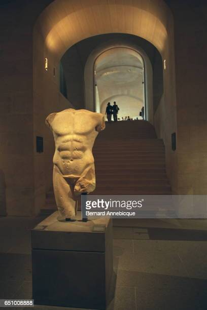 Male torso from Milet in Asia Minor In marble