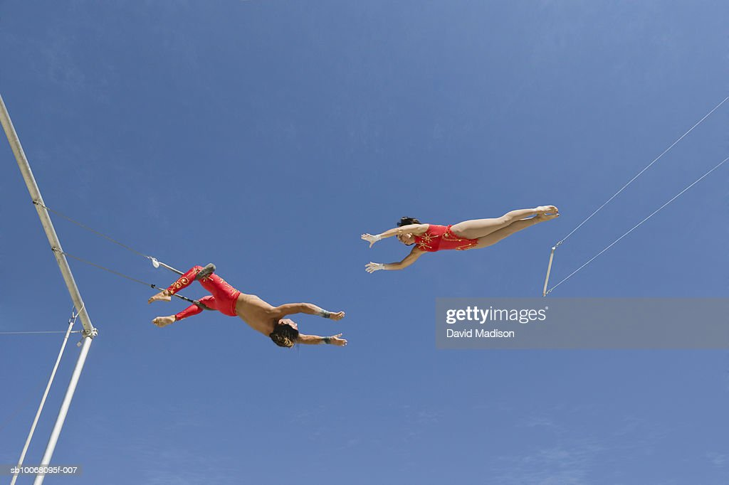 trapeze artist stock photos and pictures getty images