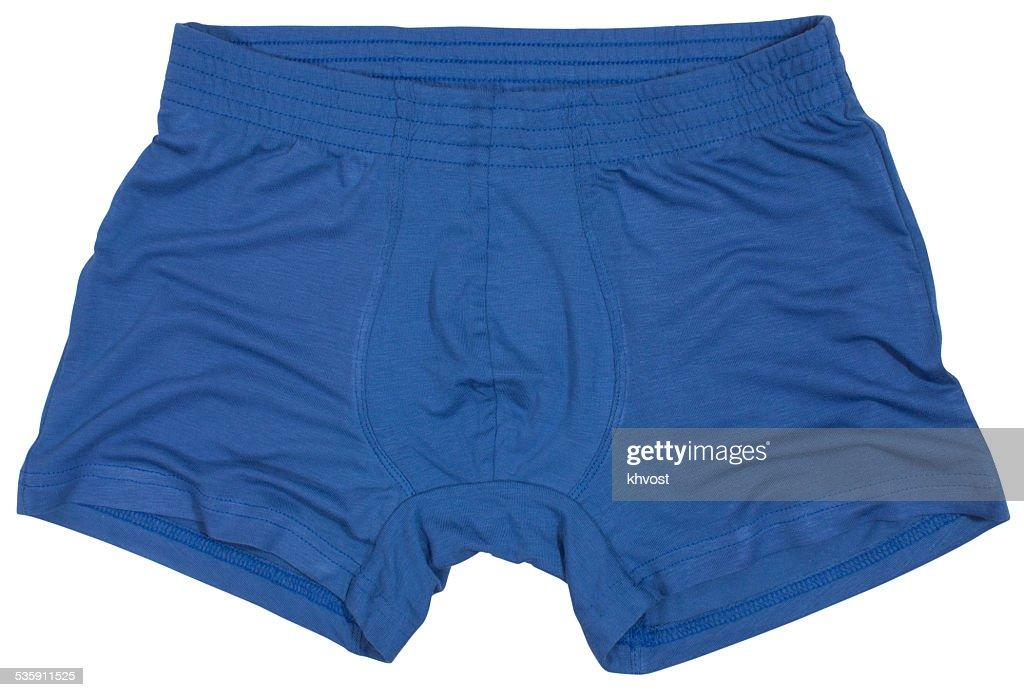Macho aislado sobre fondo blanco de la ropa interior : Foto de stock
