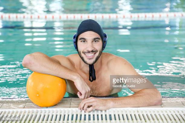 Male water polo player