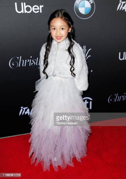 Malea Emma attends Christmas at The Grove A Festive Tree Lighting celebration at The Grove on November 17 2019 in Los Angeles California