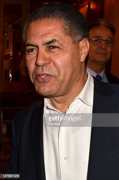 Malek Chebel attends the Procope Des Lumieres' Literary Awards First Edition at the Procope on January 30 2012 in Paris France