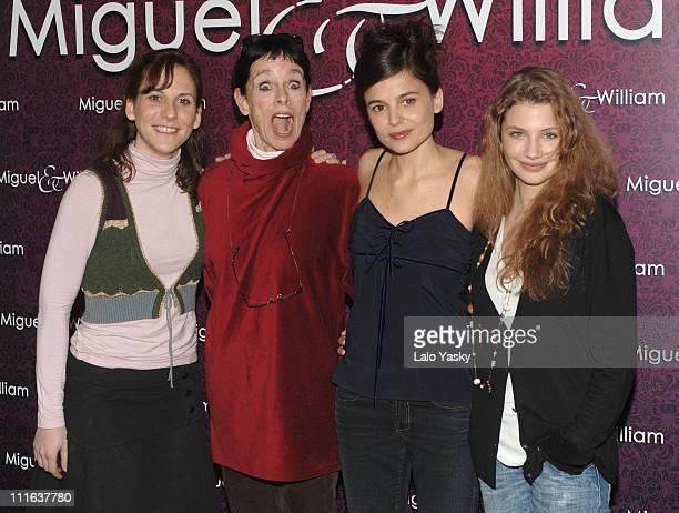 Malena Alterio Geraldine Chaplin Elena Anaya and Miriam Giovanelli