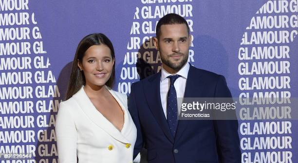 Malena Costa and Mario Suarez attend the Glamour Magazine Awards and 15th anniversary dinner at The Ritz Hotel on December 12 2017 in Madrid Spain