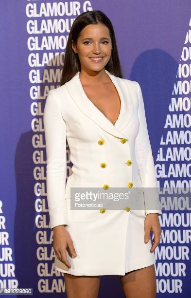 Malena Costa attends the Glamour Magazine Awards and 15th anniversary dinner at The Ritz Hotel on December 12 2017 in Madrid Spain