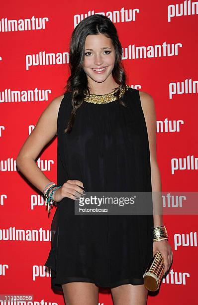 Malena Costa attends the launch of 'Viajes Ocio Placer' Pullmantur's Magazine at Oui on March 31 2011 in Madrid Spain