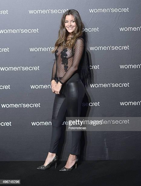 Malena Costa attends the Women'Secret Videoclip Presentation at La Riviera on November 11 2015 in Madrid Spain