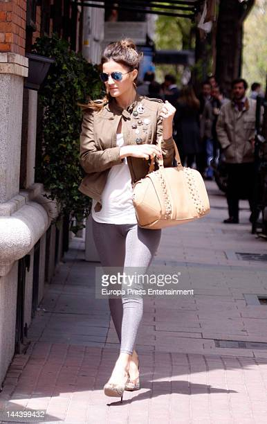 Malena Costa is seen on May 4 2012 in Madrid Spain