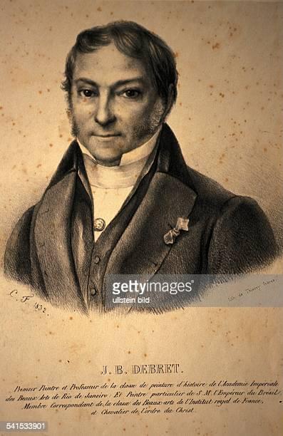 Maler, Zeichner, Frankreich/BrasilienPorträt um 18101832