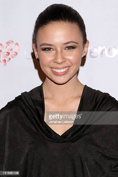 Malese Jow arrives to the LAFW Grand Finale Event Featuring Li Cari Autumn/Winter 2012 And Live Auction Benefiting Unlikely Heroes at The Station...