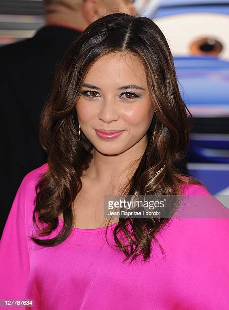 Malese Jow attends the Premiere of Walt Disney Pictures 'Cars 2' at the El Capitan Theatre on June 18 2011 in Hollywood California