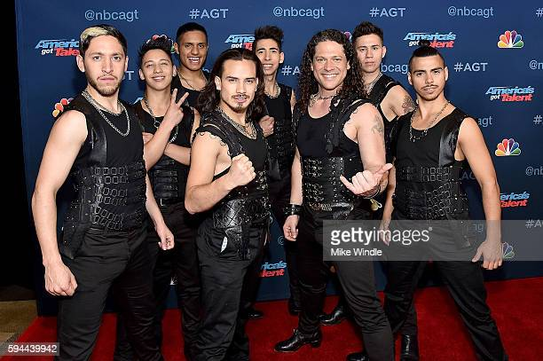 Malevo attends the 'America's Got Talent' Season 11 Live Show at Dolby Theatre on August 23 2016 in Hollywood California