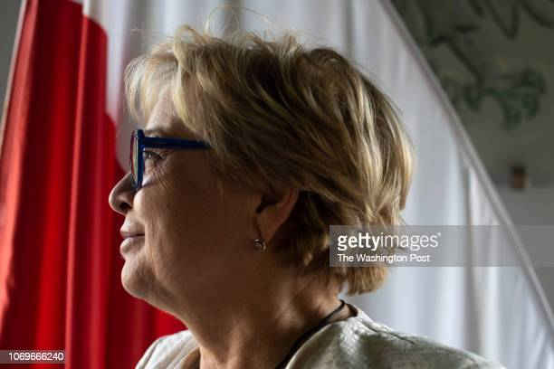 Malgorzata Gersdorf the Chief Justice of the Supreme Court was photographed in her office in Warsaw Poland on November 8 2018 Autocracy and right...
