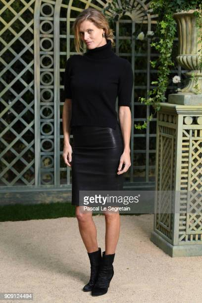 Malgosia Bela attends the Chanel Haute Couture Spring Summer 2018 show as part of Paris Fashion Week on January 23 2018 in Paris France