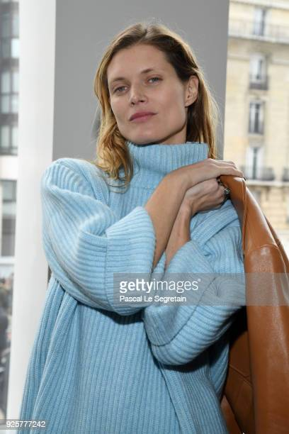 Malgosia Bela attends the Chloe show as part of the Paris Fashion Week Womenswear Fall/Winter 2018/2019 on March 1 2018 in Paris France