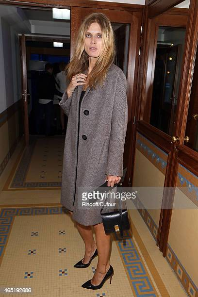 Malgosia Bela attends The ETAM show as part of the Paris Fashion Week Womenswear Fall/Winter 2015/2016 at Piscine Molitor on March 3 2015 in Paris...