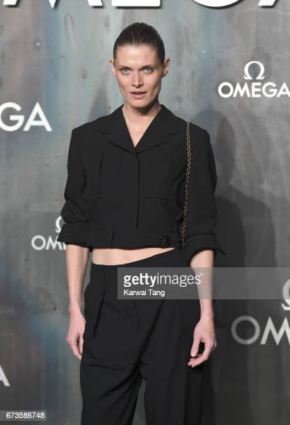 Malgosia Bela attends the Lost In Space event to celebrate the 60th anniversary of the OMEGA Speedmaster at the Tate Modern on April 26 2017 in...
