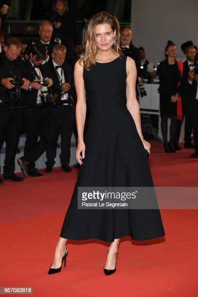 """Malgosia Bela attends the screening of """"Cold War """" during the 71st annual Cannes Film Festival at Palais des Festivals on May 10, 2018 in Cannes,..."""