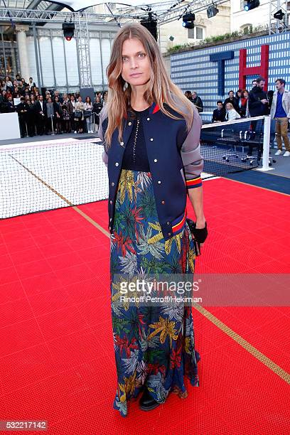 Malgosia Bela attends Tommy Hilfiger hosts Tommy X Nadal Party Photocall on May 18 2016 in Paris