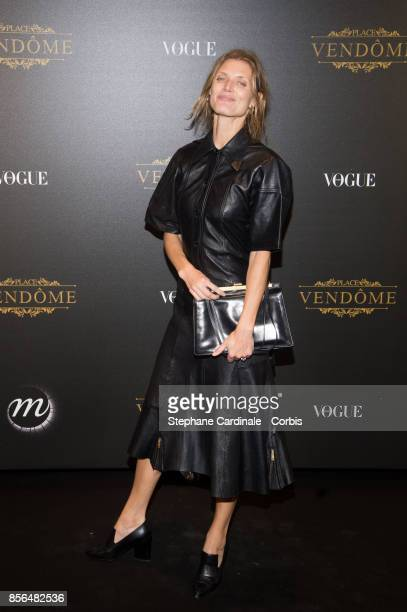 Malgosia Bela attends Vogue Party as part of the Paris Fashion Week Womenswear Spring/Summer 2018 at on October 1 2017 in Paris France