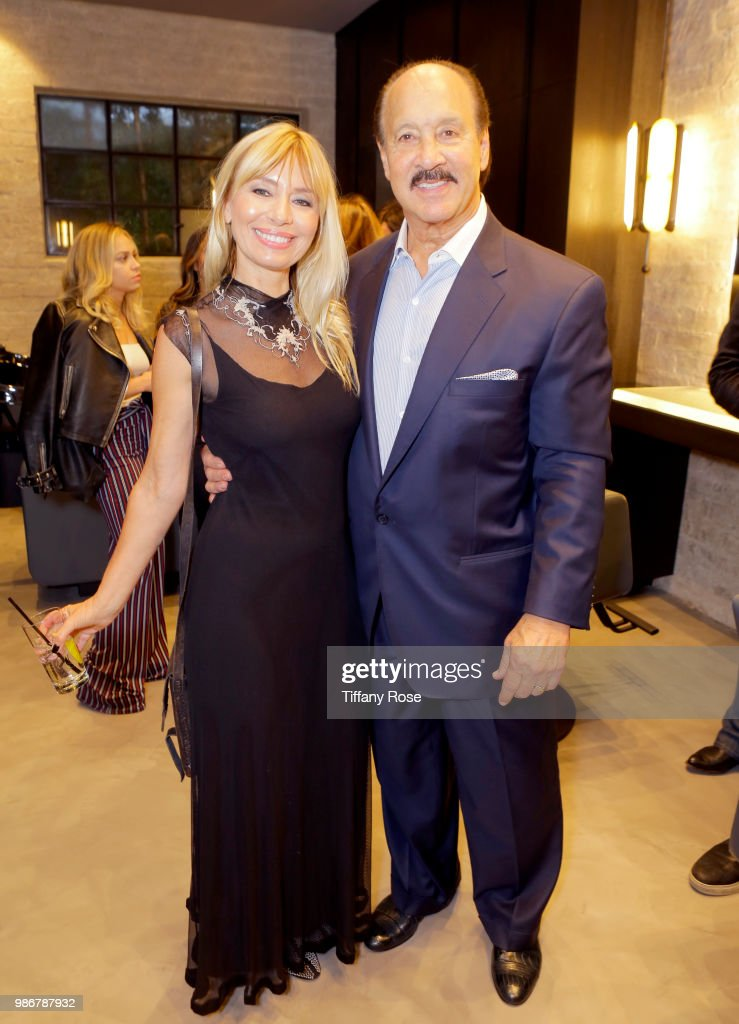 Malgosia Migdal and Ken Meares attend the TOTALEE launch at TOTALEE on the Alley on June 28, 2018 in Beverly Hills, California.
