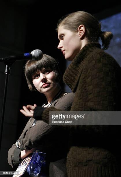 "Malgosia Szumowska, director of ""Stranger"", and Malgosia Bela, actress starring in ""Stranger"""