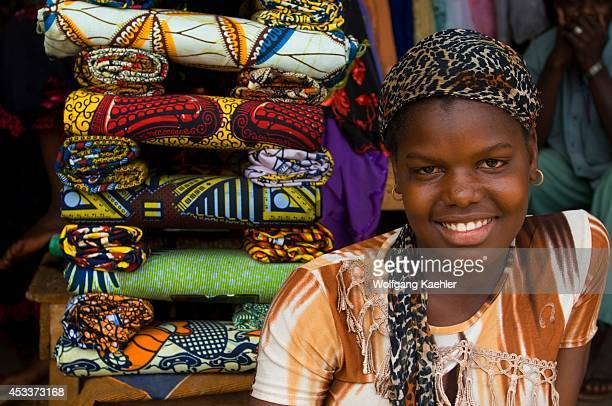 Mali Bamako Central Market Portrait Of Young Woman