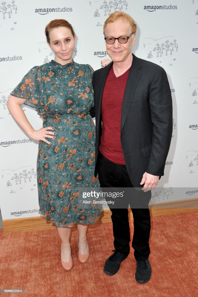 Mali Elfman (L) and Danny Elfman attend Amazon Studios Premiere of 'Don't Worry, He Wont Get Far On Foot' at ArcLight Hollywood on July 11, 2018 in Hollywood, California.