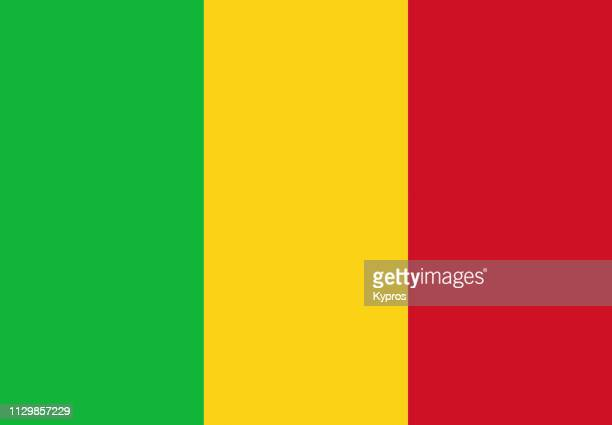 mali flag - mali stock pictures, royalty-free photos & images