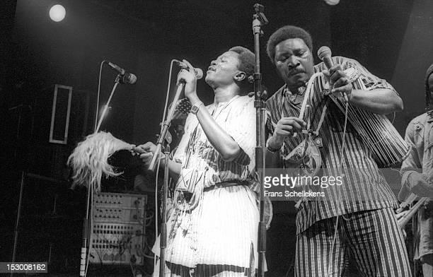 Mali group Super Biton de Segou performs live on stage at the Melkweg in Amsterdam Netherlands on 2nd October 1986