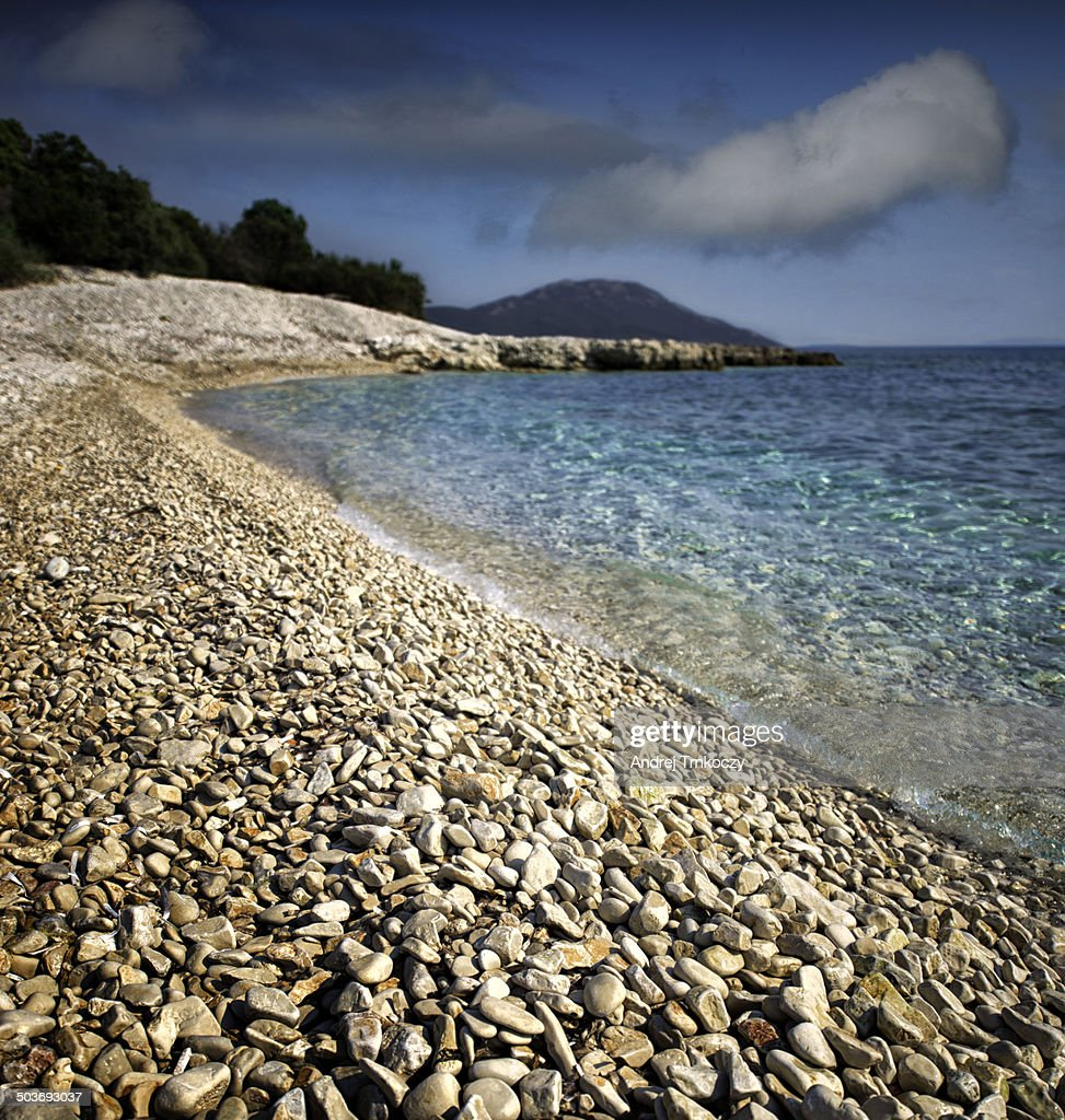 Mali Losinj Beach : Stock Photo