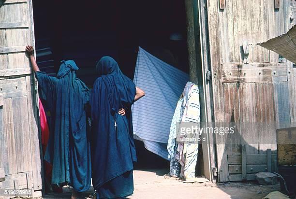 Moorish women in Mopti