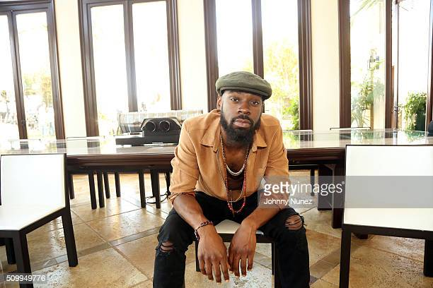 Mali Music attends the Artium Grammy Brunch at Private Residence on February 12 2016 in Los Angeles California