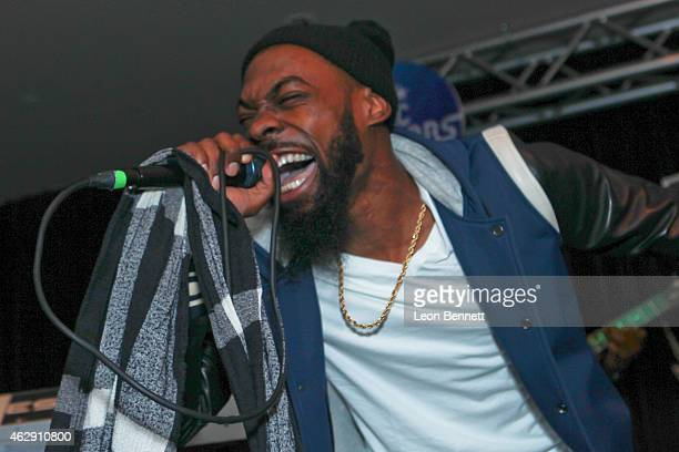 Mali Music performed at the BET Music Matters Grammy Showcase at HOME on February 6 2015 in Beverly Hills California