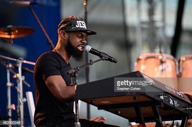 Mali Music performs during day 2 of the Cincinnati Music Festival at Paul Brown Stadium on July 25 2015 in Cincinnati Ohio