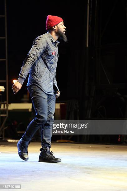 Mali Music performs during the Centric Celebrates Selma event on March 8 in Selma Alabama