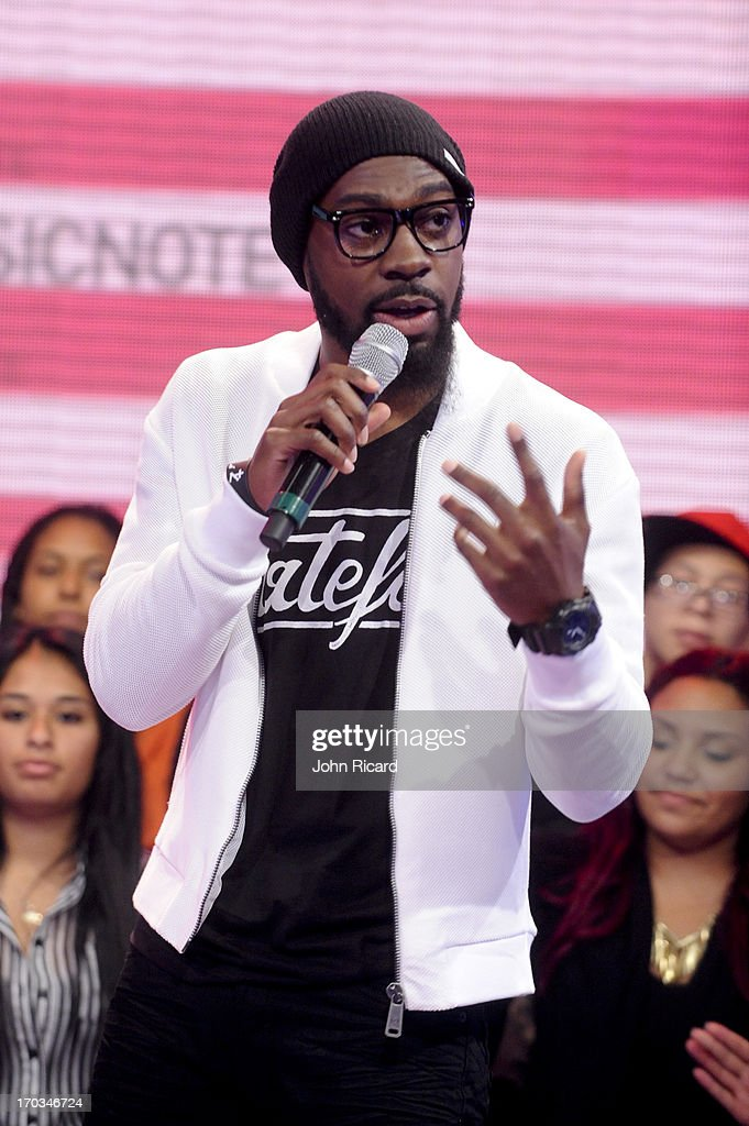 Mali Music visits BET's '106 & Park' at BET Studios on June 10, 2013 in New York City.