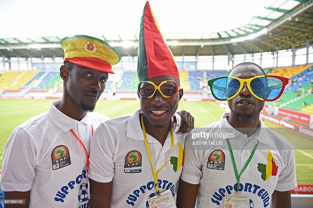 FBL-AFR-2017-MATCH07-GHA-UGA-FANS : News Photo