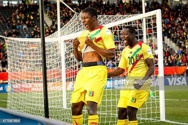 Mali team mates celebrate after the penalty shoot out during the FIFA U20 World Cup New Zealand 2015 Quarter Final match between Mali and Germany at...