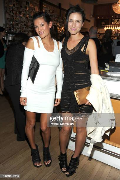 Malia Jones and Cappy Esguerra attend KIEHL'S Party to Celebrate EARTH DAY at Kiehl's on April 22 2010 in New York City