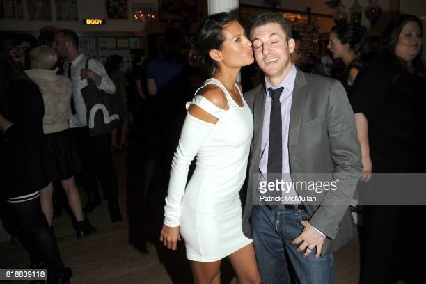 Malia Jones and Rob Imig attend KIEHL'S Party to Celebrate EARTH DAY at Kiehl's on April 22 2010 in New York City