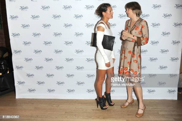 Malia Jones and Tensie Whelan attend KIEHL'S Party to Celebrate EARTH DAY at Kiehl's on April 22 2010 in New York City