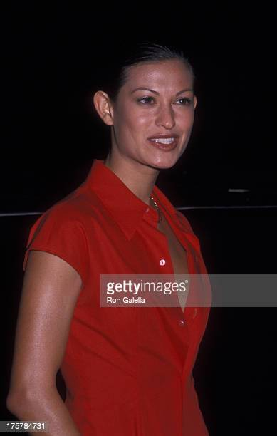 Malia Jones attends 37th Annual Sports Illustrated Swin Suit Issue Launch Party on February 22 2000 at the Hammerstein Ballroom in New York City